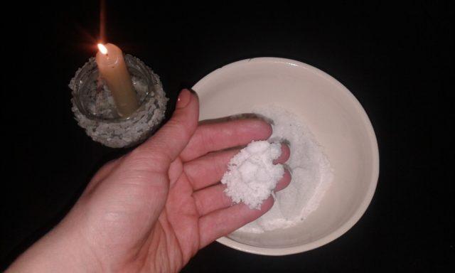 Снятие порчи солью самостоятельно в домашних условиях
